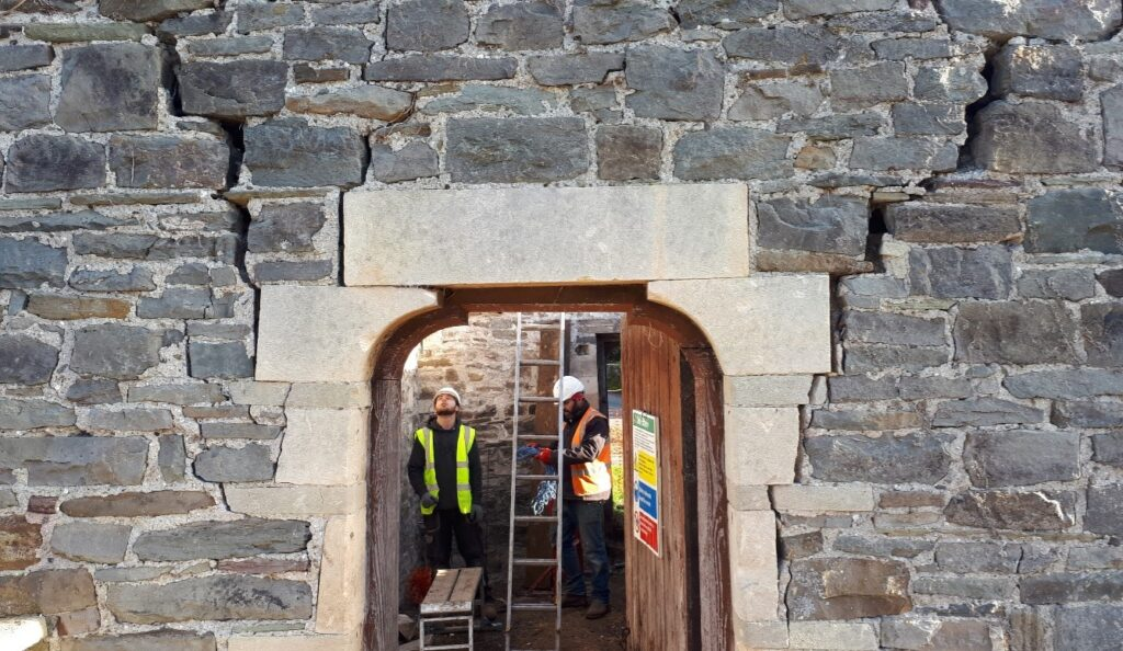 Neil Phillips of APAC Ltd carried out archaeological surveys throughout the project